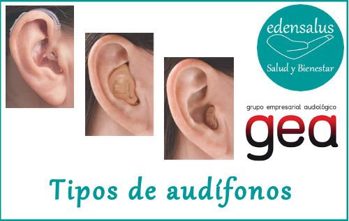 Tipos de audífonos