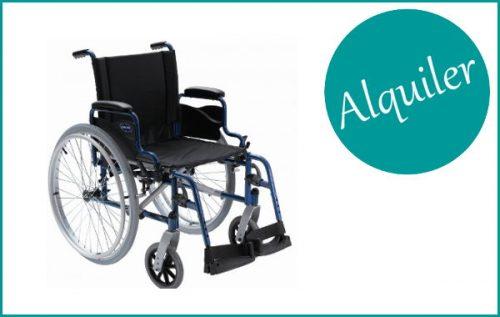 Alquiler de sillas de ruedas plegables