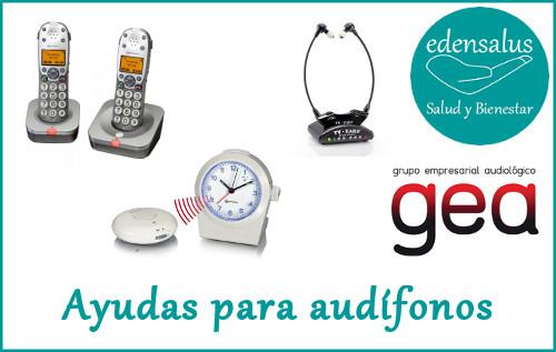 Ayudas para audífonos